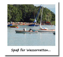 Wassersport am Chiemsee.
