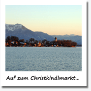 Winter am Chiemsee.